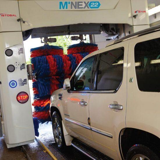 شستن ماشین در کارواش